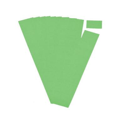 Einsteckkarten für Planrecord grün 70x32mm 90 Stück