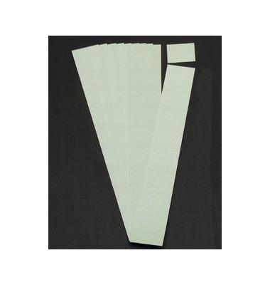 Einsteckkarten für Planrecord grau 70x32mm 90 Stück