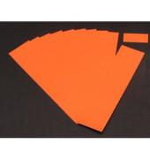 Einsteckkarten für Planrecord orange 70x32mm 90 Stück