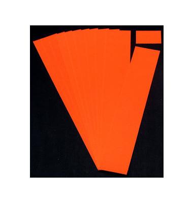 Einsteckkarten für Planrecord rot 70x32mm 90 Stück