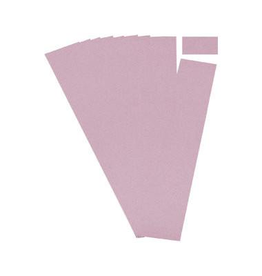 Einsteckkarten für Planrecord rosa 70x32mm 90 Stück
