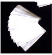 Schutzhüllen für Einsteckkarten glasklar 70x32mm 50 Stück