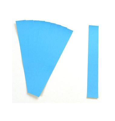 Einsteckkarten für Magnetschienen hellblau 60x19mm 170 Stück