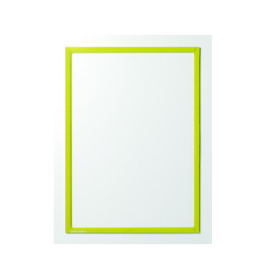 Infotaschen magnetisch für A3 gelb