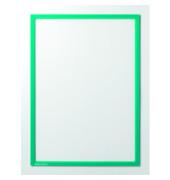 Infotaschen magnetisch für A3 grüner Rahmen