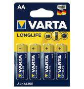Batterie Longlife extra Mignon / LR06 / AA 4 Stück