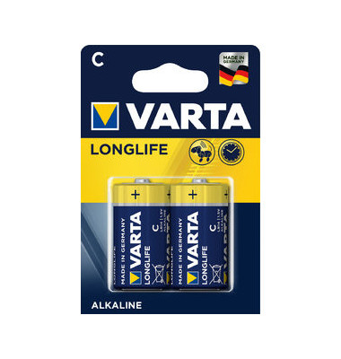 Batterie Longlife extra Baby / LR14 / C 2 Stück