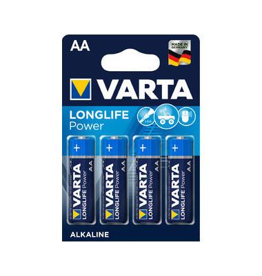 Batterie High Energy Mignon / LR06 / AA 4 Stück