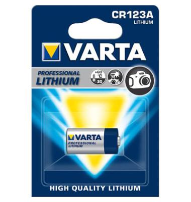 Fotobatterie Professional CR123