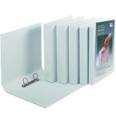Präsentations-Ringbuch Velodur A4 weiß 2-Ring Ø 40mm