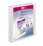 Präsentations-Ringbuch Velodur A4+ weiß 2-Ring Ø 16mm