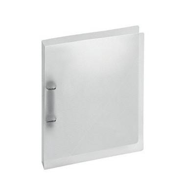 Ringbuch Crystal 1145 290 A4 transparent 2-Ring Ø 25mm Kunststoff