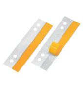 Heftstreifen 30 x 105mm kurz Heftfix Folie selbstklebend transparent 50 Stück