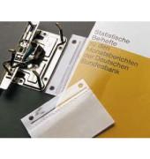 Abheftstreifen Doppelfix 2006 500, 60x100mm, selbstklebend, Kunststoff, transparent, 50 Stück