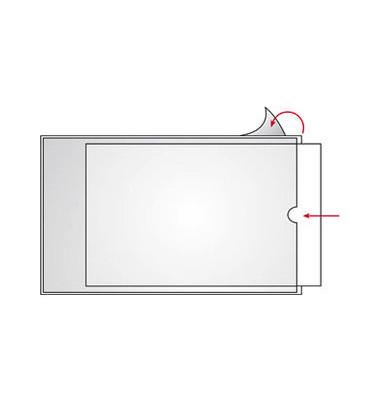 22141 Beschriftungsfenster 210x297mm A4 transparent Folie 100 Stück
