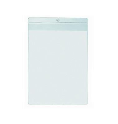 Sichttaschen PVC-Hartfolie glasklar A4 10 St