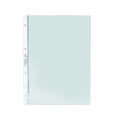 043410 A4 Prospekhüllen oben und links offen glasklar 75my 100 Stück