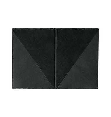 Urkundenmappe Exquisit A4 schwarz Weichfolie