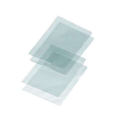 Sichthüllen 4548 000, A4, farblos, glasklar-transparent, glatt, 0,18mm, oben & rechts offen, PVC