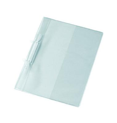 Doppelfalz Angebotshefter glasklar A4 PVC