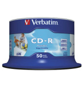CD-R 52x Spindel für Inkjetdrucker 700MB/80min 50 Stück