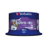 DVD+R 16x Spindel full Printable 4,7GB 50 Stück