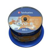 DVD-R 16x Spindel full Printable für Inkjetdrucker 4,7GB 50 Stück