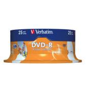 DVD-R 16x Spindel für Inkjetdrucker 4,7GB 25 Stück