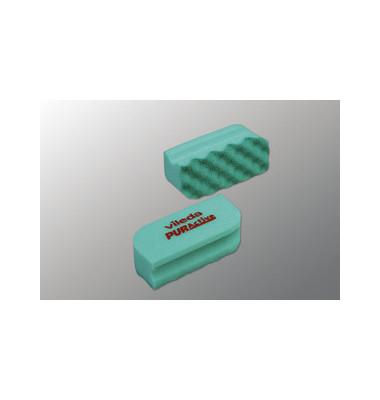 Reinigungsschwamm PURactive mit Scheuervlies waschbar grün 10 Stück