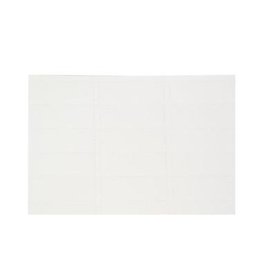 Reitereinlage blanko E60 weiß 1BG 39 St