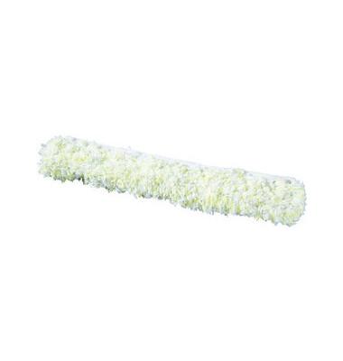 Einwascherbezug LockStrip 25 cm Mikrofaser weiß