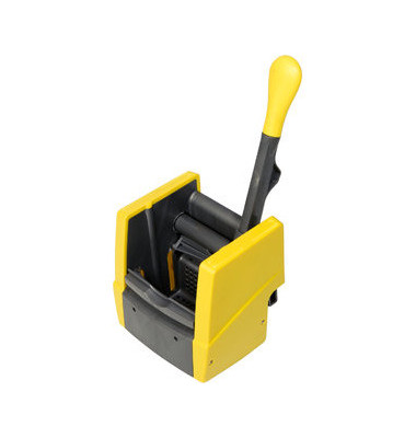 Wischmopp-Presse VK4 gelb für Reinigungswagen