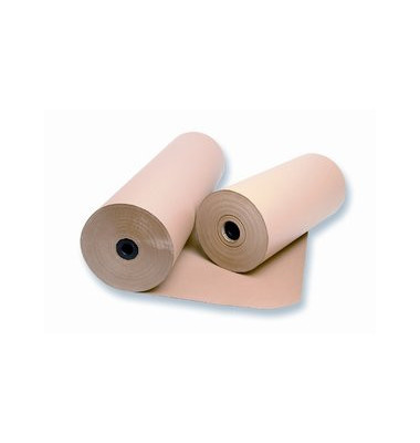 Packpapier natron-misch 80g braun 100cmx350m Rolle