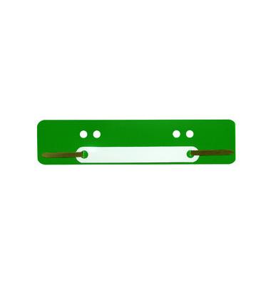 Heftstreifen kurz PP grün 34x150mm