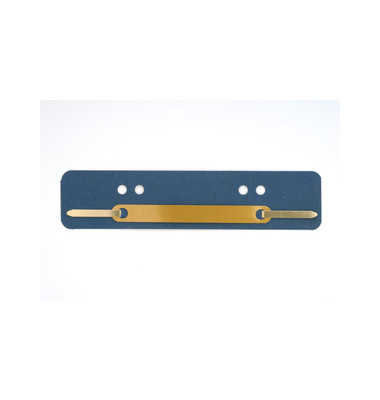 Heftstreifen kurz RC blau 34x150mm