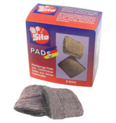 Stahlwolle-Pads verseift fettlösend 8 Stück