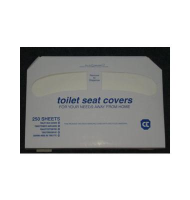 Toilettensitzauflagen 1386552, 250 Stück