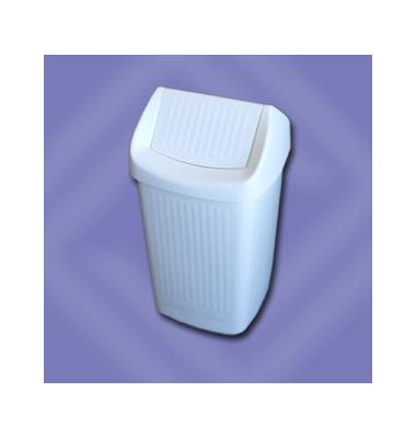 Abfalleimer 50 Liter weiß
