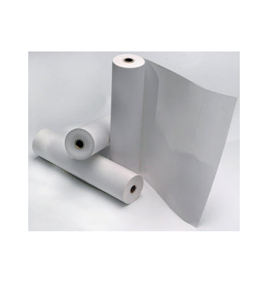 Faxrollen 210mm x 50m Kern-Ø 25,4mm weiß