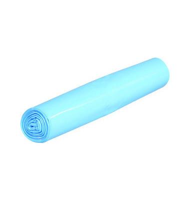 Abfallsack 70 L Standard blau 575 x 1000mm 25 Säcke