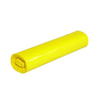 Abfallsack 120 L Stark gelb 700 x 1100 mm 25 Säcke