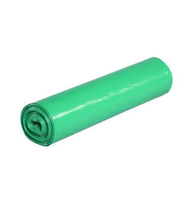 Abfallsack 120 L Stark grün 700 x 1100 mm 25 Säcke