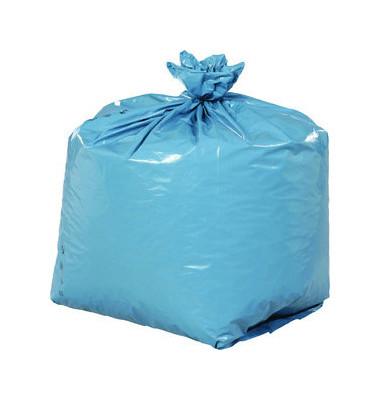 Abfallsack 240 L extra stark blau 650 x 550 x 1350 mm 50 Stück