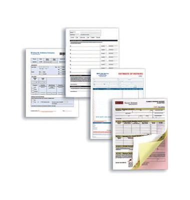 Durchschreibepapier Carbonless 003R99076, CF (1-fach, Schlussblatt), A4, gelb, 500 Blatt