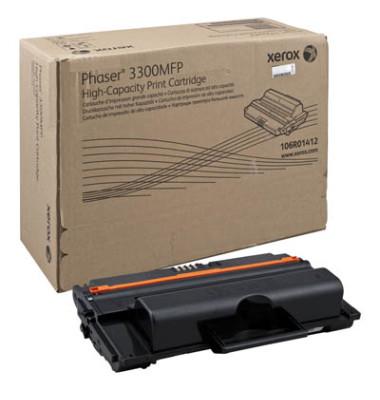 Toner 106R01412 schwarz ca 8000 Seiten