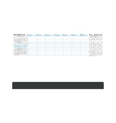 Kalenderschreibunterlage Practica 1Woche/1Seite mit Leiste 60x37cm 52 Blatt 2021