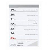 Wochenabreißkalender 325 1Woche/1Blatt 105x150mm 2021