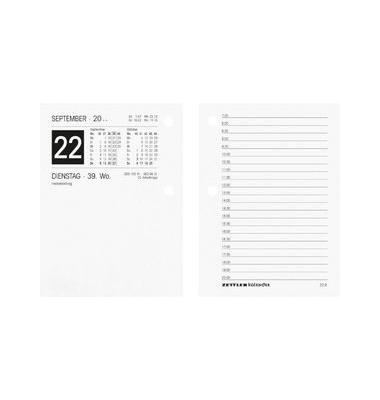 Umlegekalender-Ersatzblock 336 klein 1Tag/2Seiten 8x11cm 2021