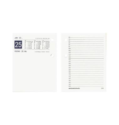 Umlegekalender-Ersatzblock 338 groß 1Tag/2Seiten 11x15cm 2021
