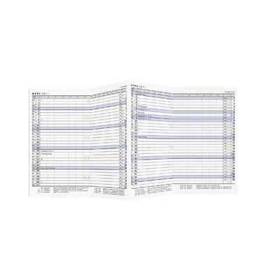 Ersatzkalender 510 1Monat/2Seiten 9x15cm 2019